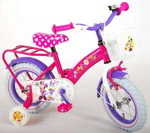 Bicicleta E&L Minnie Mouse 12 inch cu portbagaj [1]