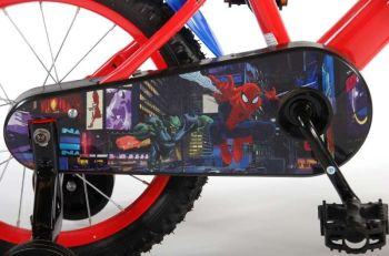 Bicicleta E&L Spiderman 16''2