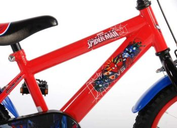 Bicicleta E&L Spiderman 16''3