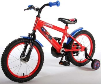 Bicicleta E&L Spiderman 16''4