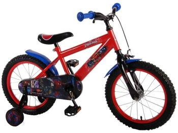 Bicicleta E&L Spiderman 16''0