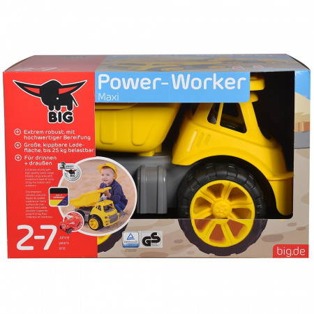 Camion basculant Big Power Worker Maxi Truck [5]