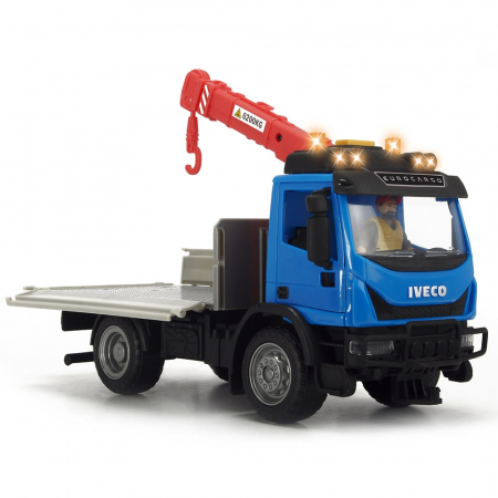 Camion Dickie Toys Playlife Iveco Recycling Container Set cu figurina si accesorii [4]