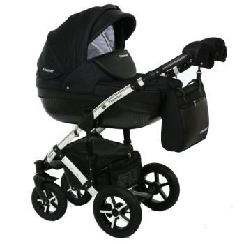 Carucior 3 in 1 Poema Black Ed. Limitata - Krausman0