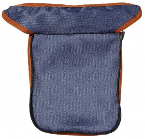 Carucior pentru papusi cu maner reversibil Juna Dark Blue - Knorrtoys [1]