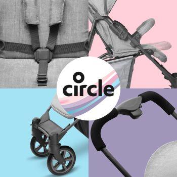 Carucior Treviso 4 Woven Circle ABC Design 2019