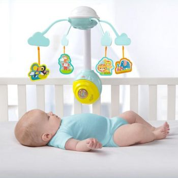 Carusel Soothing Safari 2 in 1 Mobile - Bright Starts0