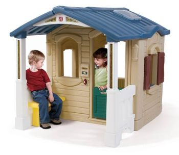 Casuta cu pridvor - Naturally Playful Front Porch Playhouse - Step2 [0]