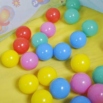 Centru de joaca cu 25 bile Ballix - Knorrtoys4