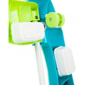 Centru de joaca premergator-balansoar Turquoise Fillikid2
