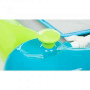 Centru de joaca premergator-balansoar Turquoise Fillikid4