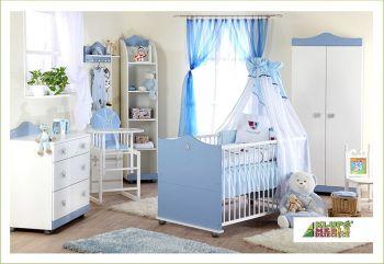 Comoda Copii de Infasat Klups - Prince Albastru1