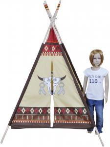 Cort de joaca pentru copii Tipi Indianer - Knorrtoys [1]