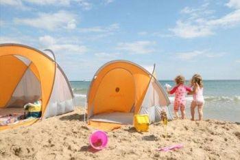 Cort pentru plaja compact UV 50 - LittleLife1