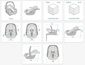 Cos auto copii 0-13 kg Pebble Plus I-Size Maxi Cosi1