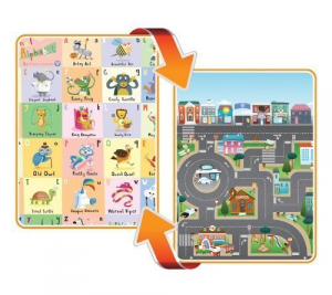Covoras de Joaca cu Doua Fete pentru Copii Prince Lionheart City / ABC [0]