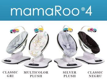 Fotoliu balansoar bebe 4MOMS MamaRoo 4.0 Plush Multicolor6