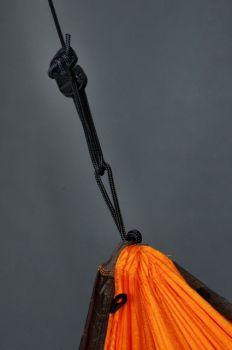 Hamac 1 pers Colibri Travel orange - La Siesta5