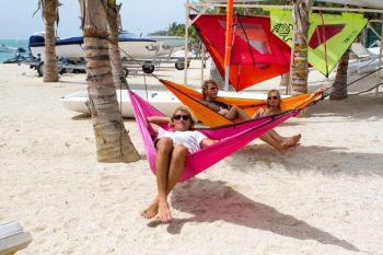 Hamac 1 persoana Colibri Travel fuchsia - La Siesta0