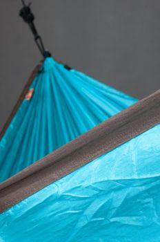 Hamac 1 persoana Colibri Travel, turquoise - La Siesta6