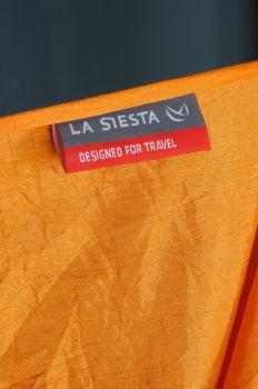 Hamac drumetie 2 persoane Colibri portocaliu+accesorii fixare - La Siesta2