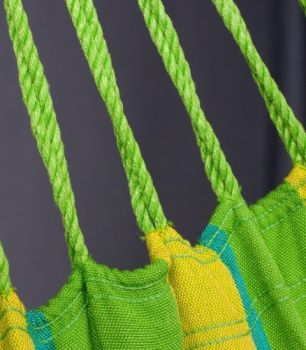 Hamac scaun Sonrisa Basic lime - La Siesta4