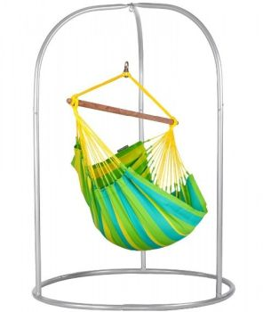 Hamac scaun Sonrisa Basic lime - La Siesta9