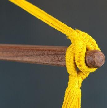 Hamac scaun Sonrisa Basic lime - La Siesta11