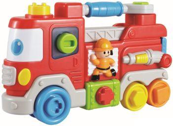 Jucarie interactiva Camion de pompieri - Baby Mix0