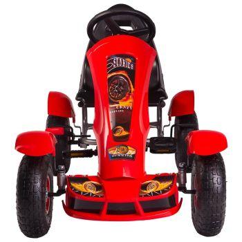 Kart cu pedale F618 Air rosu Kidscare2