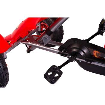 Kart cu pedale F618 Air rosu Kidscare4
