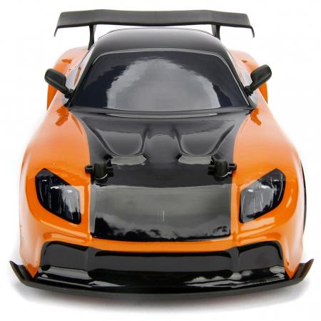 Masina Jada Toys Fast and Furious Mazda RX-7 Drift cu anvelope si telecomanda [9]
