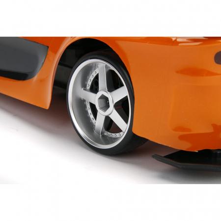 Masina Jada Toys Fast and Furious Mazda RX-7 Drift cu anvelope si telecomanda [10]