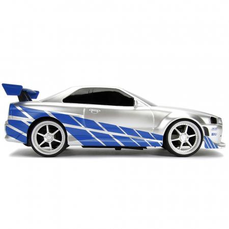 Masina Jada Toys Fast and Furious Nissan Skyline GTR cu telecomanda [5]