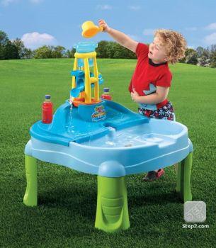 Masuta de joaca cu apa si nisip SPLASH N SCOOP BAY2