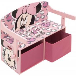 Mobilier 2 in 1 pentru depozitare jucarii Minnie Mouse1
