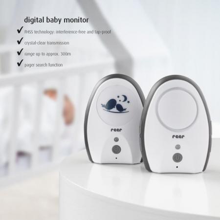Monitor digital pentru bebelusi Rigi Digital Reer 500702