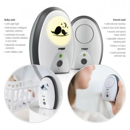 Monitor digital pentru bebelusi Rigi Digital Reer 500701