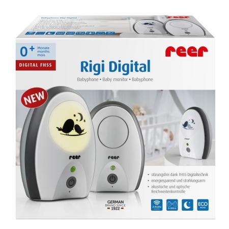 Monitor digital pentru bebelusi Rigi Digital Reer 500703