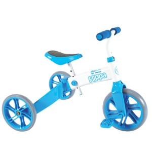 Tricicleta si bicicleta fara pedale Ybike Yvelo Flippa 2in10
