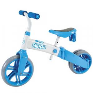 Tricicleta si bicicleta fara pedale Ybike Yvelo Flippa 2in14