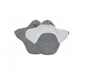 Paturica Coco reversibila grey striped Wallaboo1