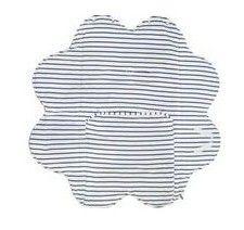 Paturica floare blue striped Wallaboo0