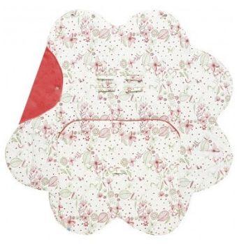 Paturica floare imprimata Wallaboo [0]