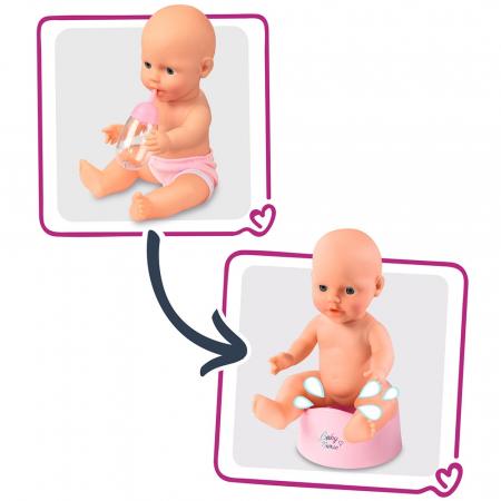 Patut Co-Sleeper pentru papusi Smoby Baby Nurse 2 in 1 [3]