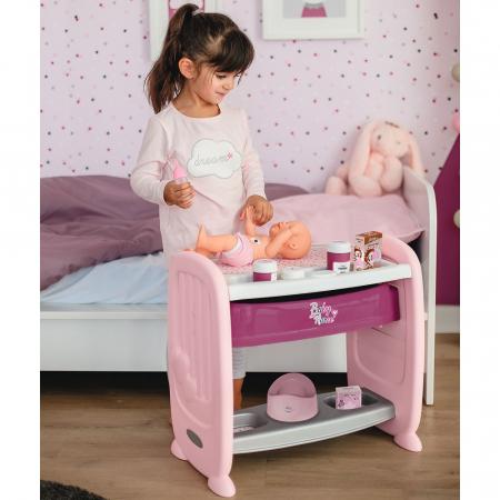 Patut Co-Sleeper pentru papusi Smoby Baby Nurse 2 in 1 [9]