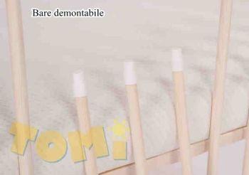 Patut din lemn Tomi XIV color cu sertar [1]