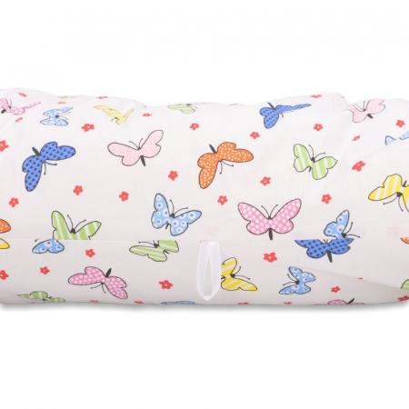 Perna 3 in 1 pentru gravide si bebelusi Soft Plus Fluturasi Multicolor - BabyNeeds [3]