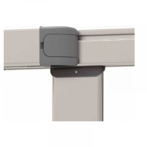 Poarta de siguranta extensibila din aluminiu Noma IKON PURE, 62-104 cm, N940783