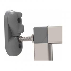 Poarta de siguranta extensibila din aluminiu Noma IKON PURE, 62-104 cm, N940782